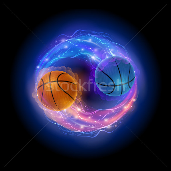 Basketball comet Stock photo © sgursozlu