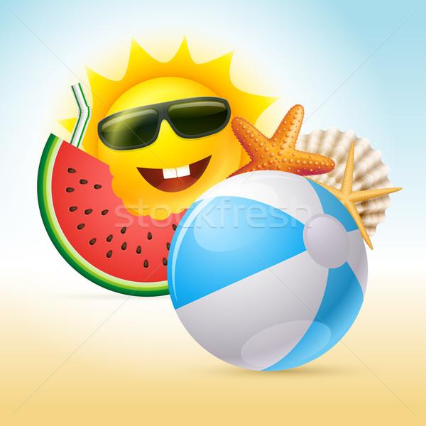 Summer Concept Illustration Stock photo © sgursozlu