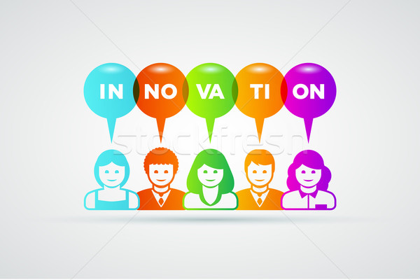 Innovation concept Stock photo © sgursozlu