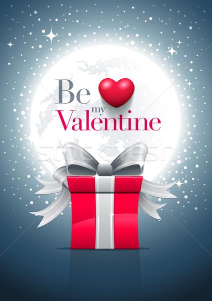 Be My Valentine Moon Stock photo © sgursozlu