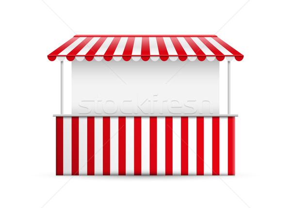 Detalhado negócio comida rua verão compras Foto stock © sgursozlu