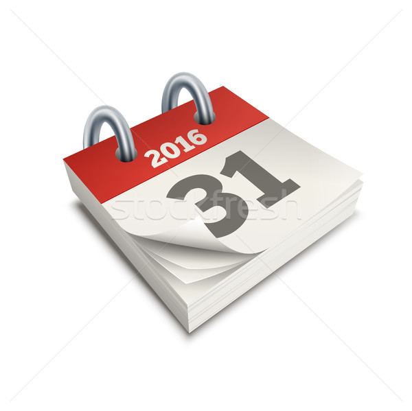 Calender Symbol Illustration Stock photo © sgursozlu