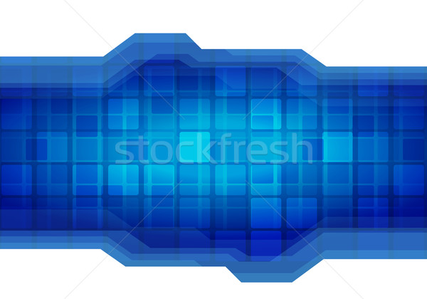 Vektor absztrakt technológia elemek réteges külön Stock fotó © sgursozlu