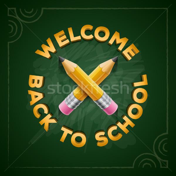Welcome Back to School Stock photo © sgursozlu