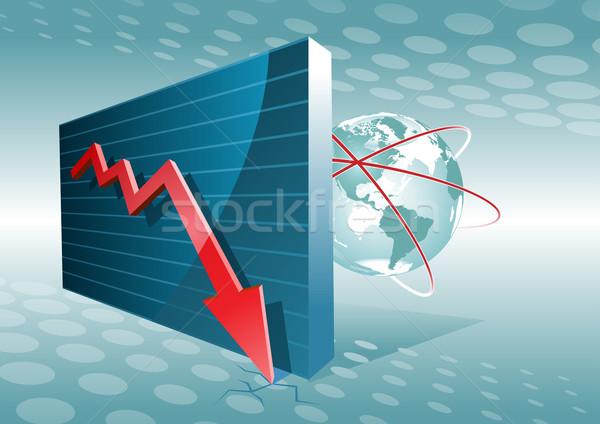 Business graph. Stock photo © sgursozlu