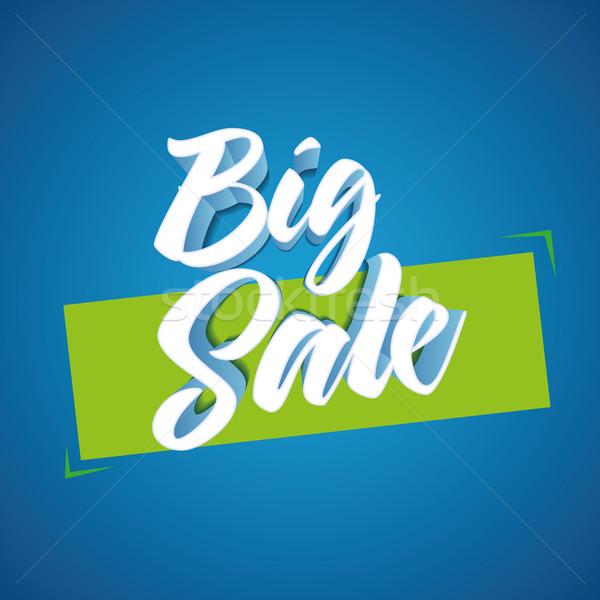 Big Sale design Stock photo © sgursozlu