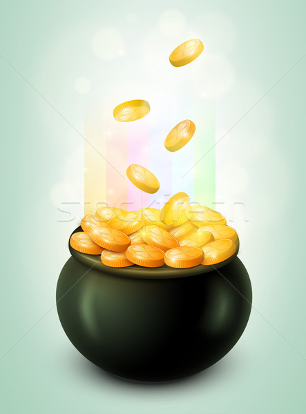 Stock photo: Pot of Gold