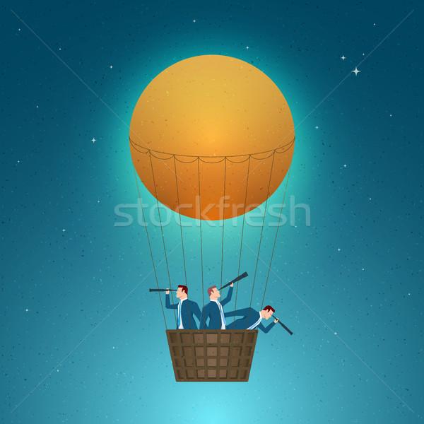 Business groei succes visie toekomst Stockfoto © sgursozlu