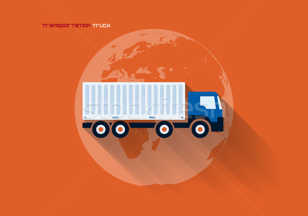 Stock photo: Transportation Concept - Truck