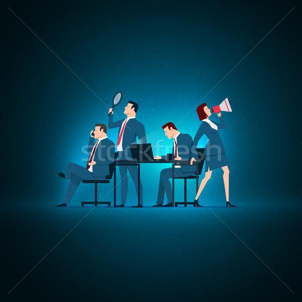 Business concept illustration. Stock photo © sgursozlu