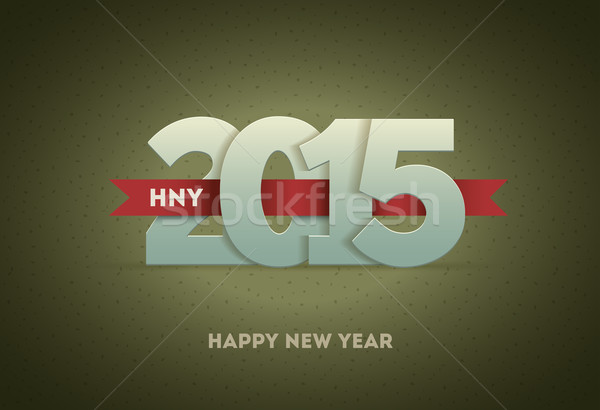 2015 Happy New Year Stock photo © sgursozlu