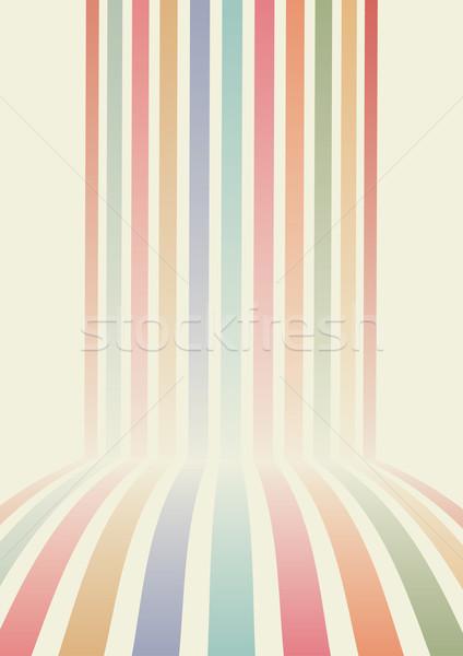 ретро вектора аннотация дизайна фон пространстве Сток-фото © sgursozlu