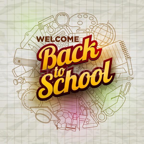 Back to School Stock photo © sgursozlu