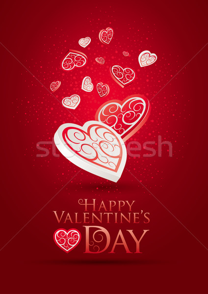 Valentine's Day Poster Stock photo © sgursozlu
