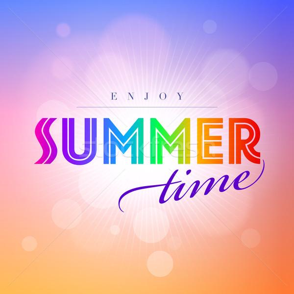 Summer Time Stock photo © sgursozlu