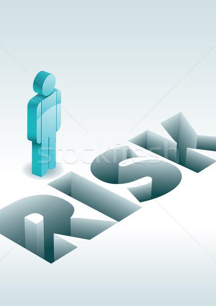 риск бизнеса 3D Элементы отдельно Сток-фото © sgursozlu