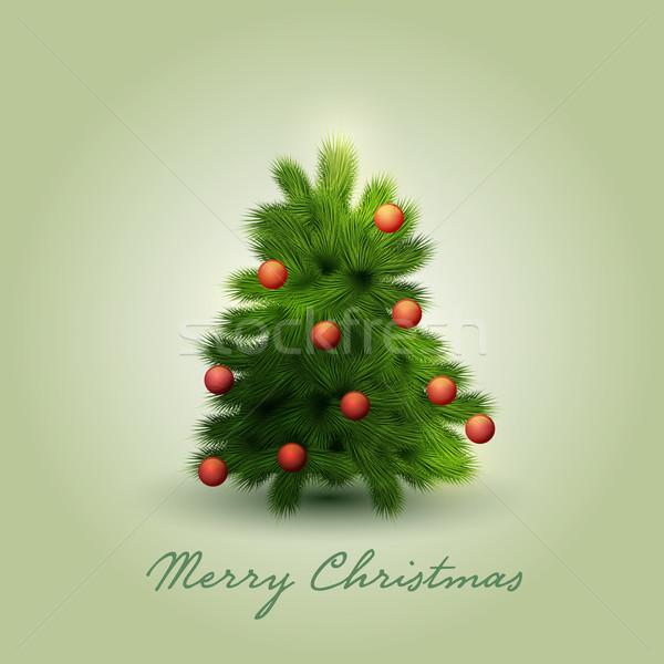 Vetor ornamento objeto árvore arte Foto stock © sgursozlu