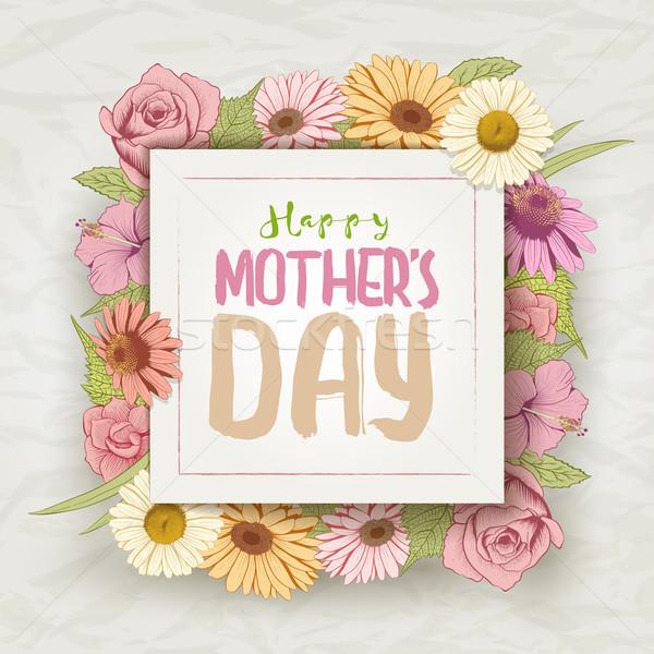 Mother's Day Stock photo © sgursozlu
