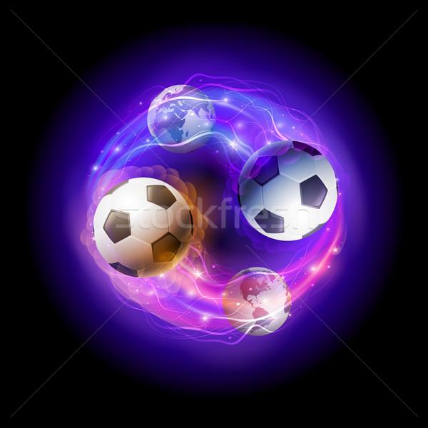 World soccer circle. Stock photo © sgursozlu