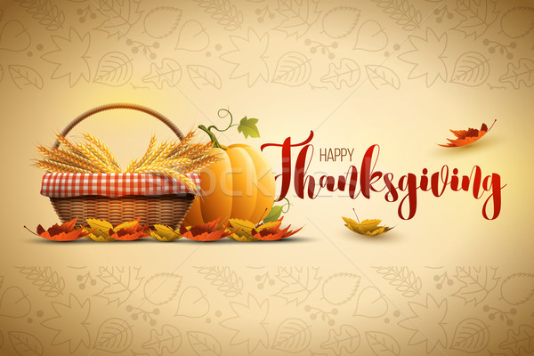Happy Thanksgiving Stock photo © sgursozlu