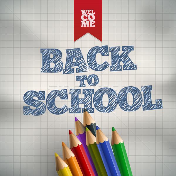 Welcome to School Stock photo © sgursozlu