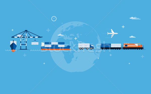 Stock photo: World Transportation Concept