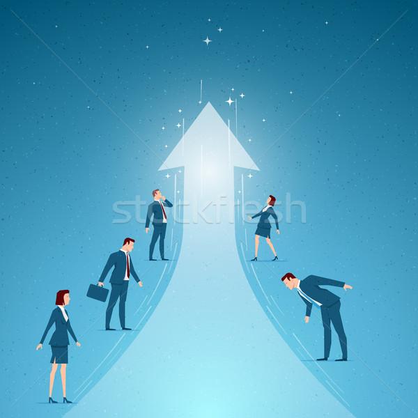 Negócio sucesso crescimento oportunidades elementos Foto stock © sgursozlu