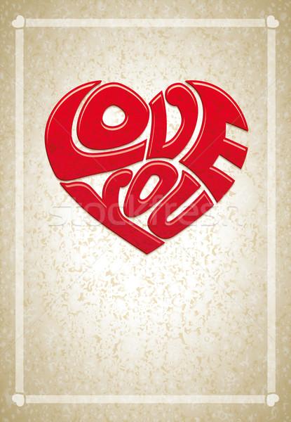 Love you Stock photo © sgursozlu