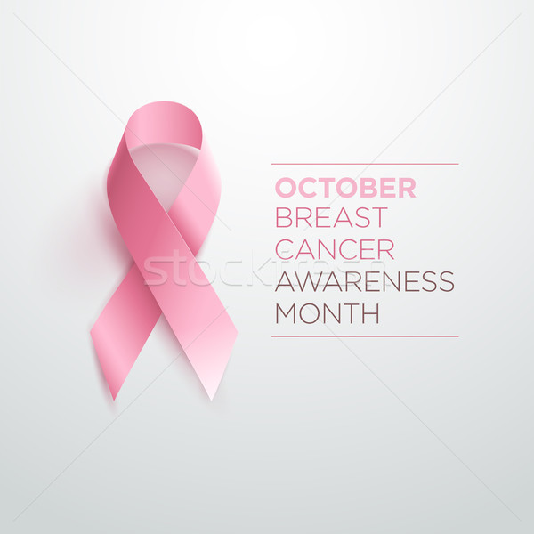 Breast Cancer Awareness Ribbon Stock photo © sgursozlu
