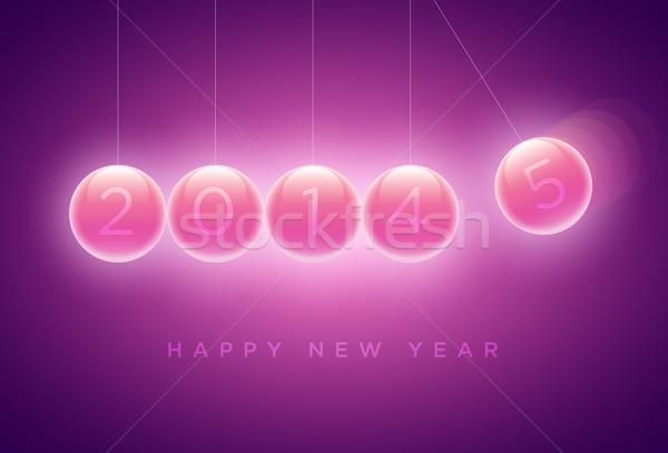 New year Greeting card Stock photo © sgursozlu