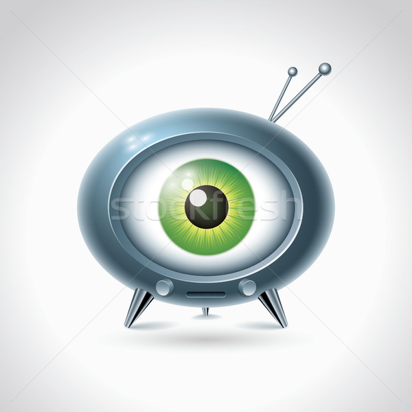 Big brother is watching you. Stock photo © sgursozlu