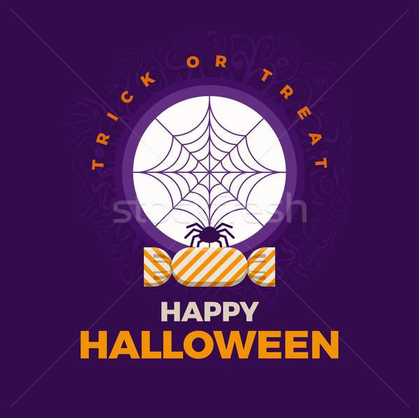 Vector Halloween design Stock photo © sgursozlu