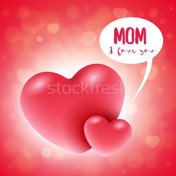 Mother's Day Card Stock photo © sgursozlu
