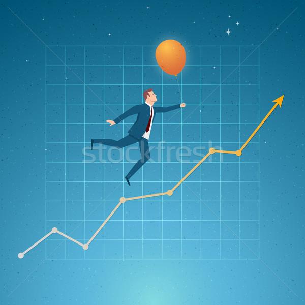 Negócio crescimento saldo sucesso oportunidades elementos Foto stock © sgursozlu