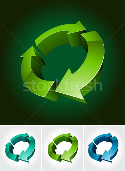 environmental symbol Stock photo © sgursozlu