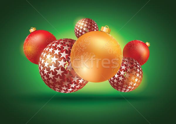 Vrolijk christmas vector abstract alle communie Stockfoto © sgursozlu