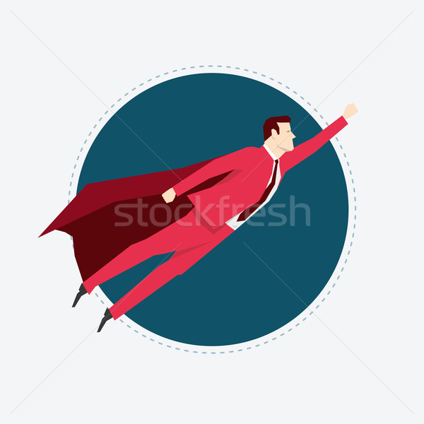 Businessman Flying Stock photo © sgursozlu