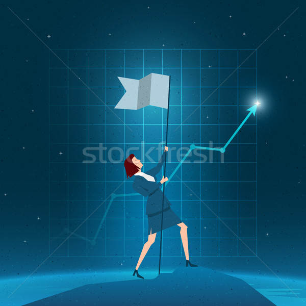 Negócio sucesso vitória elementos Foto stock © sgursozlu