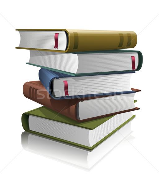 Livros separadamente vetor Foto stock © sgursozlu