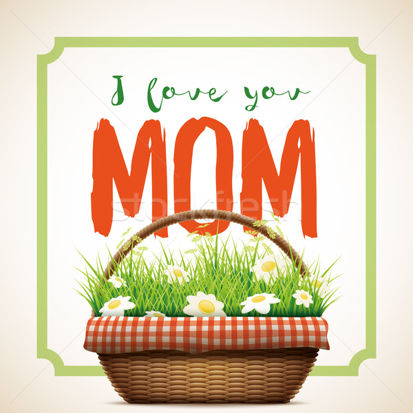Happy Mother's Day  Stock photo © sgursozlu