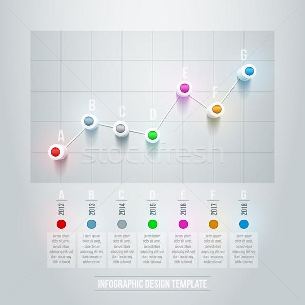 ligne graphique vecteur 3d mod le de conception illustration vectorielle suat. Black Bedroom Furniture Sets. Home Design Ideas
