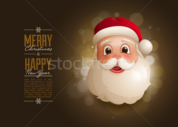 Santa Design Template Stock photo © sgursozlu