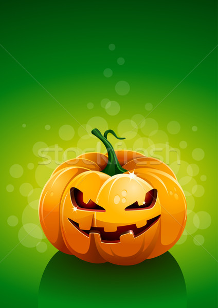 Pumpkin poster template Stock photo © sgursozlu