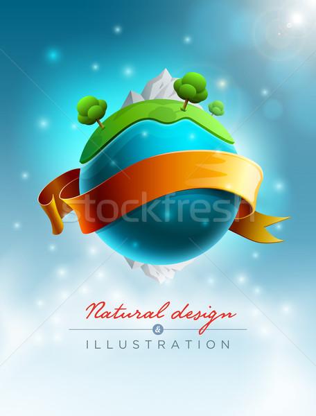 Green World Stock photo © sgursozlu