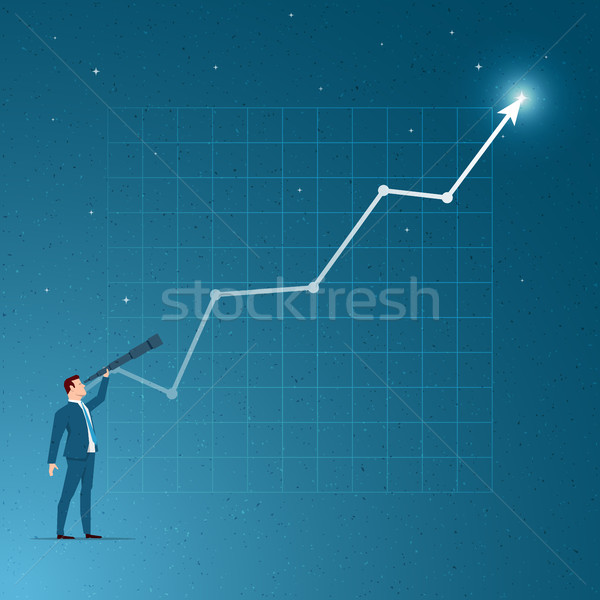 Business concept vector illustration Stock photo © sgursozlu