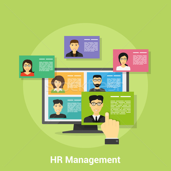 Human Resource Management Stock photo © shai_halud