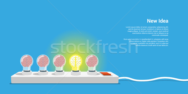 new idea concept Stock photo © shai_halud