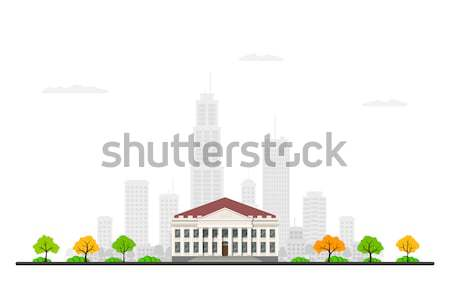 Picture of a bank building Stock photo © shai_halud