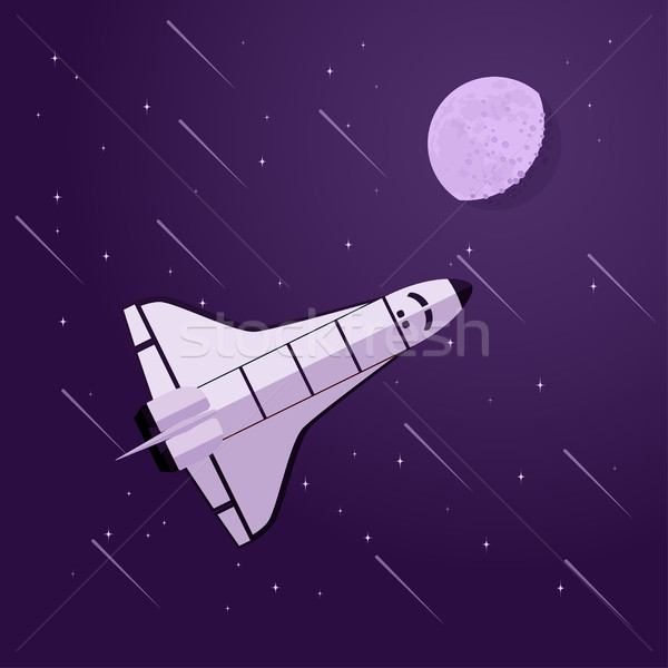 shuttle in space Stock photo © shai_halud