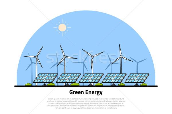 green energy concept Stock photo © shai_halud